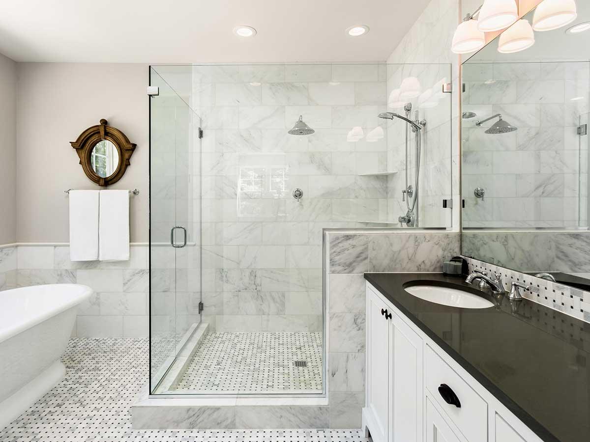 Glass Shower Enclosures Create Your Dream Bathroom A Glasco