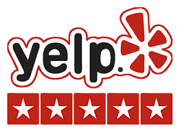 Yelp 5-star review logo